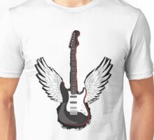 Winged Guitar Unisex T-Shirt