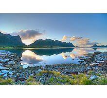 Magic sunrise Photographic Print