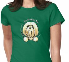 Lhasa Apso :: Its All About Me Womens Fitted T-Shirt