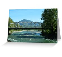 Vedder River Greeting Card