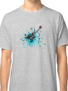 Graffiti Guitar Classic T-Shirt