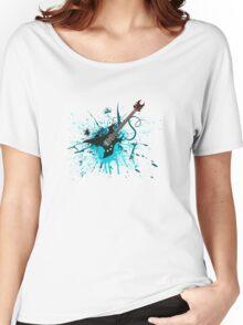 Graffiti Guitar Women's Relaxed Fit T-Shirt