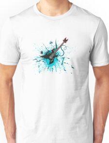 Graffiti Guitar Unisex T-Shirt