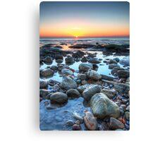 Sunrise over Winchelsea Beach Canvas Print