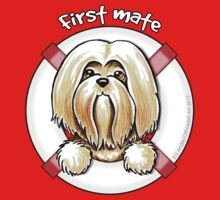 Lhasa Apso :: First Mate One Piece - Long Sleeve