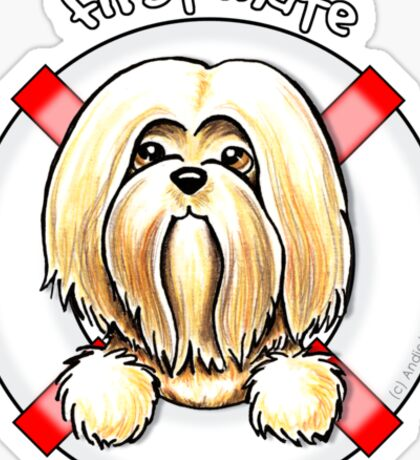 Lhasa Apso :: First Mate Sticker