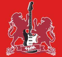British Rock Guitar by rawrclothing