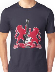 British Rock Guitar Unisex T-Shirt