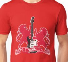 British Rock Guitar Unisex T-Shirt