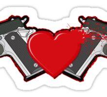 Gun Love Sticker