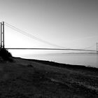 Humber bridge at dawn by Chris-Cox