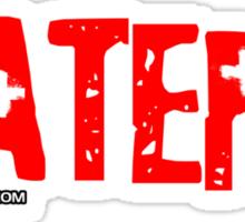 Haters Sticker
