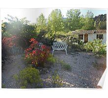 Garden view Poster