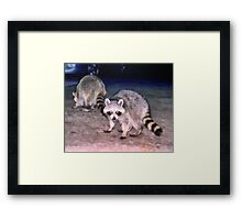 Couples Night Out Framed Print