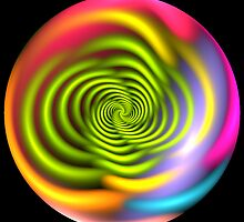 Trippy Radiation Bubble by Kazytc