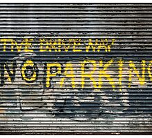 No Parking Graffiti by Michel Godts
