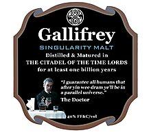 Doctor Who - Gallifrey Singularity Malt Photographic Print