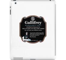 Doctor Who - Gallifrey Singularity Malt iPad Case/Skin