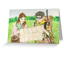 Sam & Suzy Greeting Card