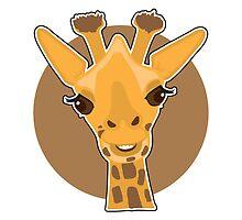 Giraffe by Maria Bell