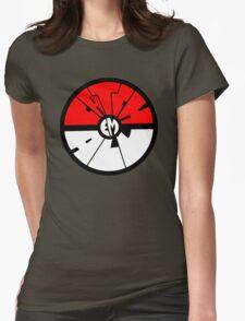 Catch 'em all - Pokeball Womens Fitted T-Shirt