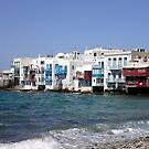 Mykonos - Feet in the water by bubblehex08