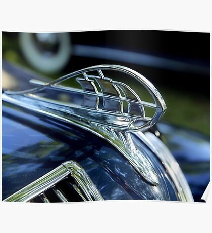Plymouth, Hood Ornament Poster