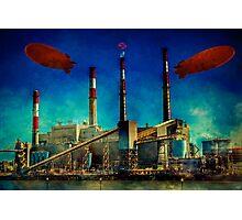 Gotham City Power Photographic Print