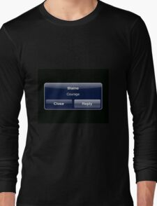 Courage Long Sleeve T-Shirt