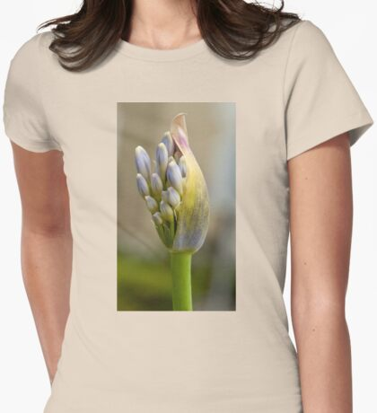 Agapanthus New Bloom Womens Fitted T-Shirt