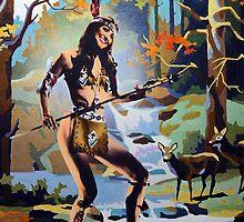 The Huntress by Bill Blair