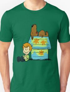 Scooby Doo Peanuts Unisex T-Shirt