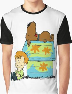 Scooby Doo Peanuts Graphic T-Shirt