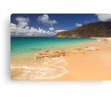 Happy Bay Beach, St. Martin Canvas Print