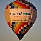Hot Air Balloon by Kristen O'Brian