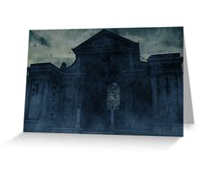 A Final Resting Place Greeting Card
