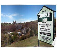 The Church Inn, Pobsgreen Poster