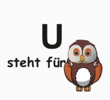 U steht für ... by Hallo Wildfang