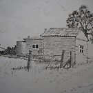 The Old Homestead by Richard  Tuvey