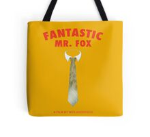 Fantastic Fox Tie Poster Tote Bag