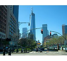 Downtown New York City  Photographic Print