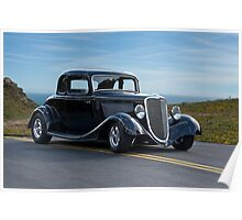 1934 Ford Coupe III Poster