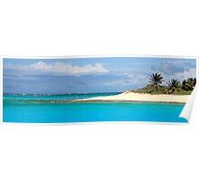 Tropical Island Panoramic Poster