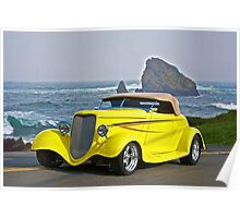 1934 Ford Coupe PCH 2 Poster