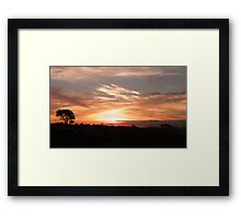 clouds Framed Print