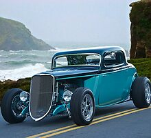 1934 Ford Coupe Pacific Coast Cruz'n 1 by DaveKoontz