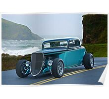 1934 Ford Coupe Pacific Coast Cruz'n 1 Poster