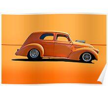 1938 Willys Sedan Poster