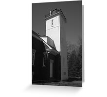 Lighthouse - 40 Mile Point, Michigan Greeting Card