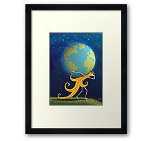 Kazart Phoebe 'Carry' Framed Print